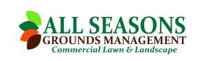 All Seasons logo with tag italic